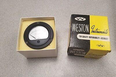 Vintage Weston 301 Milliamperes D.c. Range 0-3 Ma