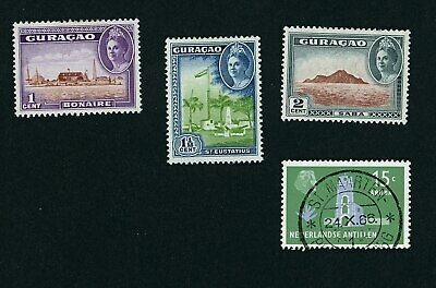 Curacao 4 stamps