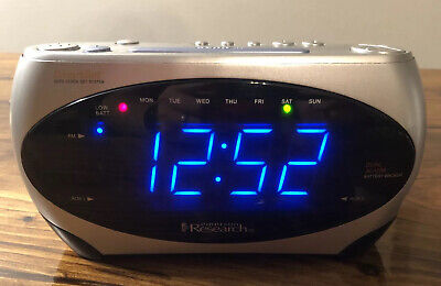 Emerson Research Smart Set Digital Dual Alarm Clock~AM-FM Radio~CKS1862