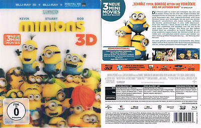 MINIONS --- 3D Blu-ray --- + 2D Version --- der Animations-Kinohit ---