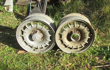 Mercedes Bundt alloy wheels(2) 14""