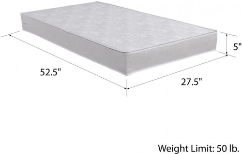 Toddler Mattress New Safety 1st Sweet Dreams Crib Baby Bed White Waterproof