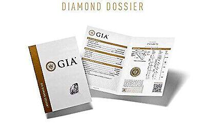 Natural 2.50 Ct. Cushion Cut w/ Baguette Diamond Engagement Ring H SI1 GIA Plat 1