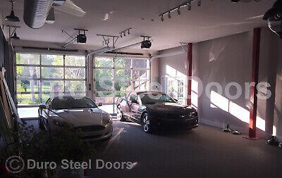 Duro Steel Amarr 3552 Series 12 X 12 Full View Glass Heavy Duty Overhead Door