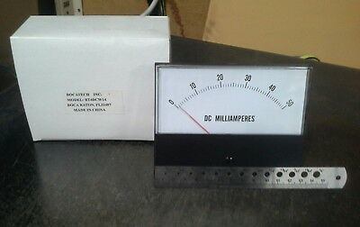 Panel Meter 0 - 50 Ma Dc Amp Meter. 130 X 100mm