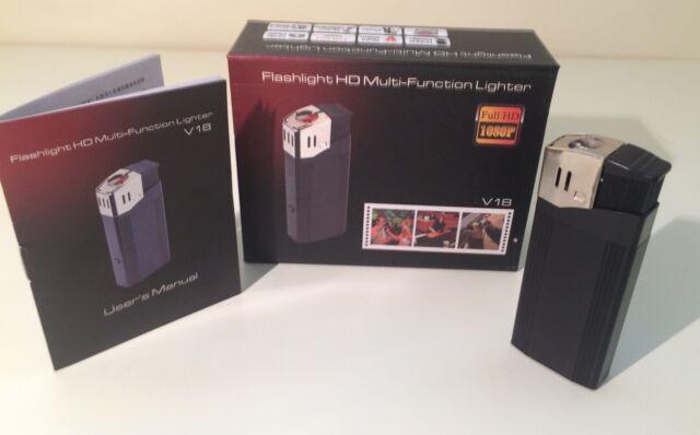 HD 1080P Professional Cigarette Lighter Hidden Video Mini Spy Camera DVR 32GB