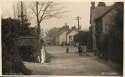 St Clears. Station Road.