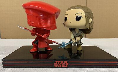 Funko Pop! Star Wars Movie Moment: The Last Jedi - Rey & Praetorian Guard Loose