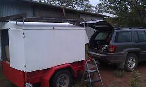 Covered  Trailer with Removable Top. Beerburrum Caloundra Area Preview