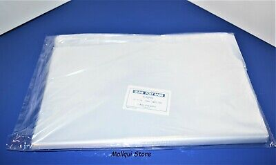 100 CLEAR 12 x 16 LAY FLAT OPEN TOP  POLY BAGS PLASTIC PACKING ULINE BEST 1 MIL