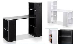 Desks Brand New And Bookcase As Well