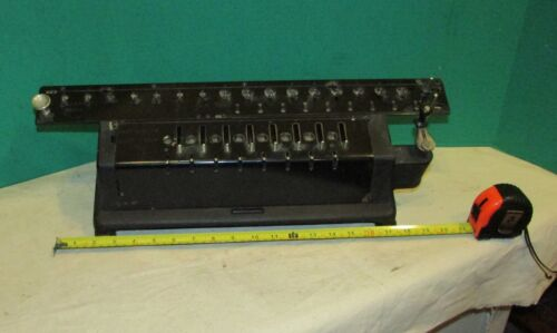 Large Antique Ludwig Spitz Calculator ms