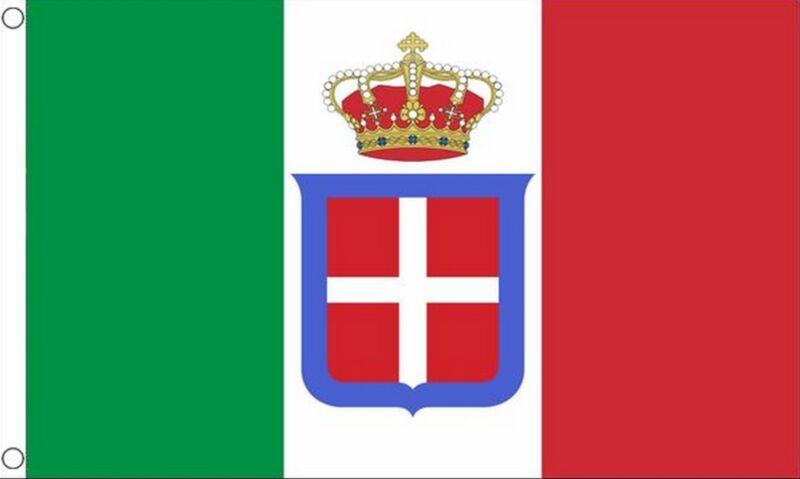 ITALY STATE 5x3 feet FLAG 1861 to 1946 Italian Kingdom ITALIA flags