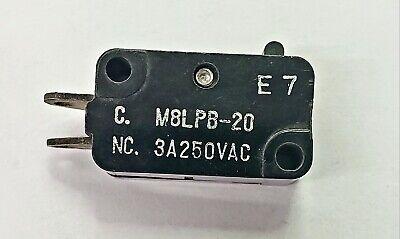 Mulon M8lpb-20spst- On-off Micro Switch 3a 250v Ac