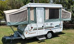 2003 JAYCO FINCH WINDUP CARAVAN, BAGGED AWNING, CANVAS GREAT Burpengary Caboolture Area Preview