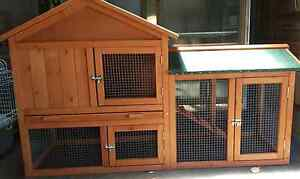 **❤❤NEW CHICKEN COOP RABBIT HUTCH 1400MM LONG 49MM DEEP 85MM HIGT Londonderry Penrith Area Preview
