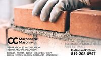 Masonry specialists available