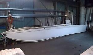2 off 8 mt Fibreglass pontoon hulls for sale Broadbeach Waters Gold Coast City Preview
