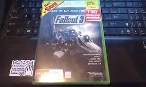 fallout 3 goty edition xbox 360 game (2 disc) Woodville West Charles Sturt Area Preview