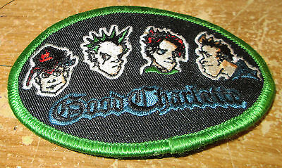 GOOD CHARLOTTE COLLECTABLE RARE VINTAGE PATCH EMBROIDED 2003 METAL LIVE