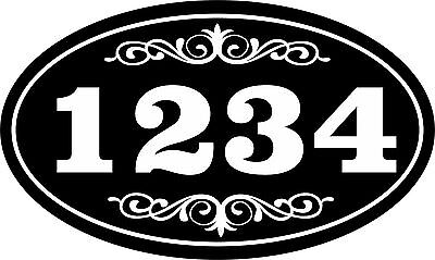 Personalized House Address Sign Plaque Aluminum Won't Fade, Peel or (Signs Peel)