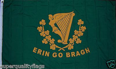 NEW 3x5 ft ERIN GO BRAGH ST PATRICKS DAY IRELAND IRISH FLAG