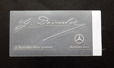 Mercedes Sticker Aufkleber  Mercedes Benz  Product  G Daimler Transparent