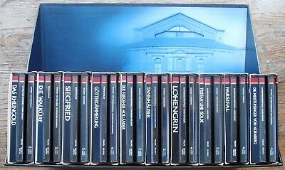 PHILIPS 1992 RICHARD WAGNER EDITION BAYREUTHER FESTSPIELE   32 CD BOX