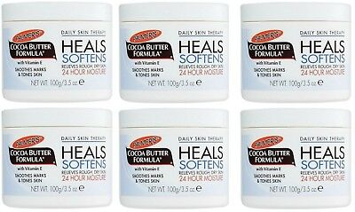 (6 Jars) Palmer's Cocoa Butter Formula Cream Daily Skin Therapy 3.5 oz Each