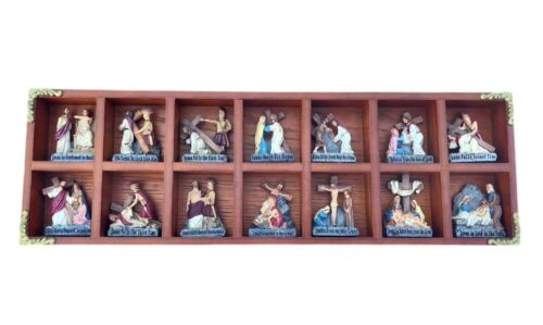 WMG ©2010 Stations of the Cross Complete Set in Display Case