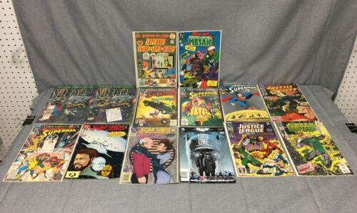 VINTAGE LOT OF 12 DC COMIC BOOKS-