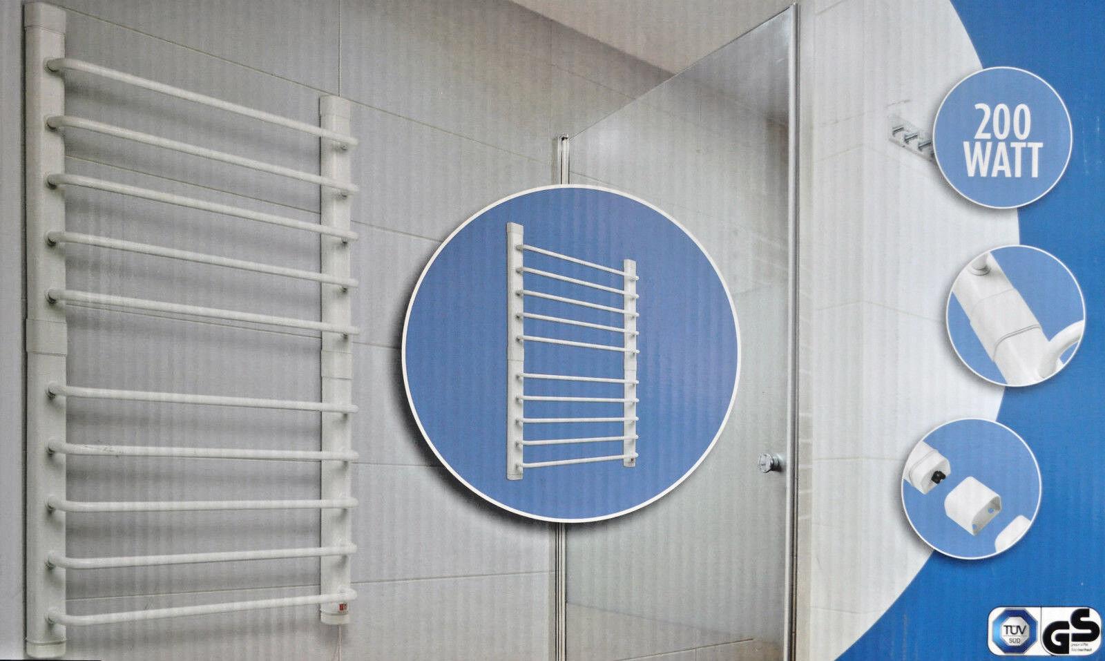 Quigg 3 in 1 Handtuchwärmer, Wäschewärmer & Handtuchhalter, Heizung, elektrisch