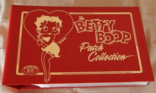Betty Boop 40 Cartoon Patch Collection and Deluxe Gold Embossed Collector Album
