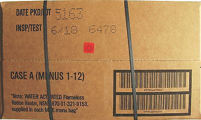 MRE  US rations, meal ready to eat menu  A