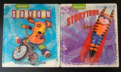Harcourt Storytown 2nd Grade Student Hardback Readers - ALL 2! Grade 2 Reading