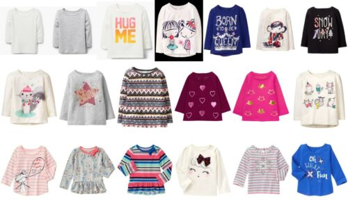 NEW GYMBOREE girls long sleeve tee size 2T 3T 4T 5T YOU PICK Spring Fall Winter