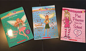 Three kids novels from Scholastic