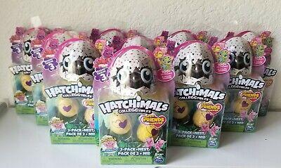 Hatchimals Colleggtibles Surprise Eggs (2 Eggs + NEST) Season 3, Pack Of 10