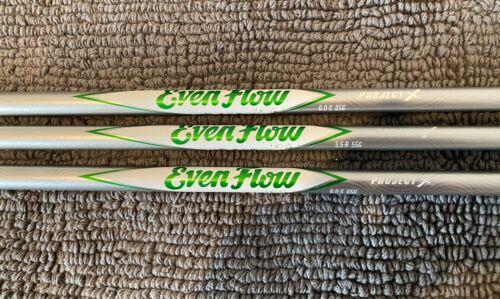 New Project X EvenFlow Green Driver Graphite Shaft .335 5.5 Regular Flex 55g