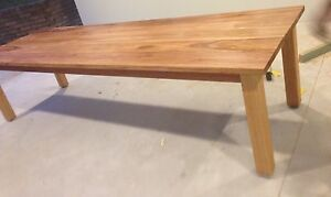 Blackbutt solid timber 3 metre dining table Hornsby Hornsby Area Preview