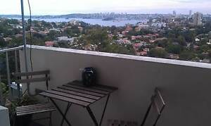 Panoramic Harbour & City views! Furnished, Convenient + Parking! Neutral Bay North Sydney Area Preview