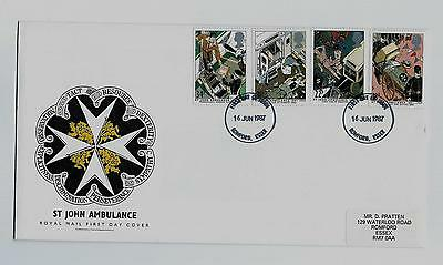 First Day Stamp Cover - St Johns Ambulance from 1987