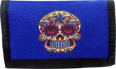 Wallet , Candy Skull Ripper wallet, Men's & Boys wallet, Men's gifts (Candy Wallet)