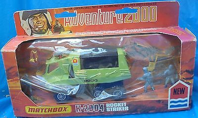 Matchbox Adventure 2000 K-2004 Rocket Striker MIP MIB Rare Made In U.K. 1977 VTG