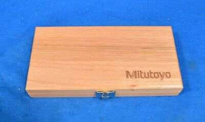 Mitutoyo 64ppp932 Mahogany Case For Mitutoyo Digimatic Caliper And Micrometer
