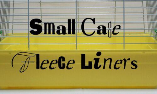 Fleece liners smaller cages Living World Kaytee Ware Prevue Marchiorio add walls