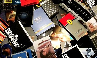Lot of 13 Men's Designer Cologne Samples Random Box