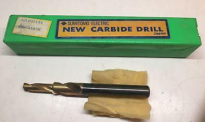 Sumitomo Electric Carbide Drill - Mdld 02134 - Wdw085s3e - New In Case
