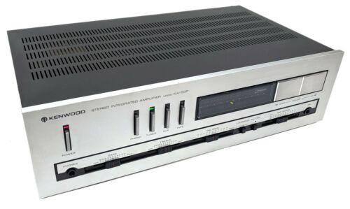 Kenwood Model KA-500 Stereo Integrated Amplifier Amp HiFi Audiophile - Tested