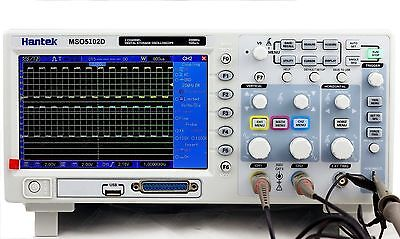 Hantek 2in1mixed Signal Oscilloscope Mso5102d 100mhz 2ch1gsa16ch Logic Analyzer